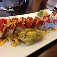 Photo taken at Orange Roll & Sushi by Christine C. on 10/19/2012