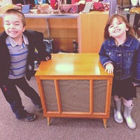 Photo taken at Heart Home Thrift Store by Megan T. on 2/22/2014