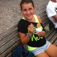 Photo taken at Gelateria Brina by Nidia M. on 7/23/2014