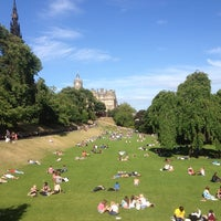 Photo taken at West Princes Street Gardens by Stratos F. on 7/6/2013