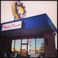 Photo taken at Maple Donuts by Benjamin B. on 12/23/2012