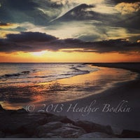 Photo taken at Broadway Beach by Heather B. on 12/8/2013