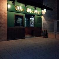 Photo taken at The Clover Irish Tavern by Santi B. on 11/16/2012