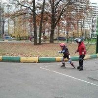 Photo taken at Горнолыжная База ЦСКА by Anna G. on 10/24/2012