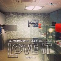 Photo taken at Dalyan Makina by MarkaMakina on 12/26/2012