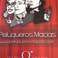 Photo taken at Peluqueros Macias by J'Amy S. on 2/27/2014