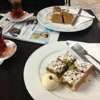 Photo taken at Tunahan Pasta Cafe by Mutlu Ç. on 3/2/2013