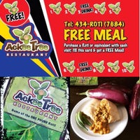 Photo taken at Ackee Tree Restaurant by Ackee Tree R. on 8/2/2016
