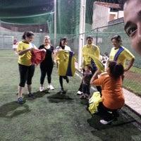 Photo taken at Los Amigos del Futbol by Emilse V. on 5/13/2014