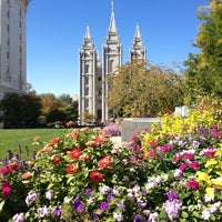 Photo taken at Temple Square by Matt G. on 10/5/2012
