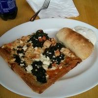 Photo taken at Saki's pizza by Jimmy B. on 3/26/2014
