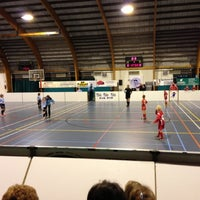 Photo taken at Sporthal Koersel by Bart S. on 12/27/2012