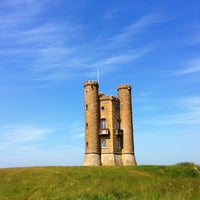 Photo taken at Broadway Tower by Eagle on 7/13/2013