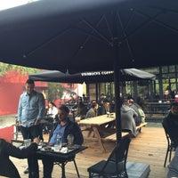 11/8/2015 tarihinde Emre C.ziyaretçi tarafından Starbucks Reserve'de çekilen fotoğraf
