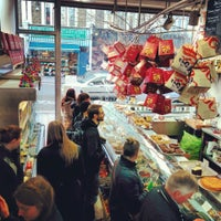 Photo taken at East Dulwich Deli by Jonathan C. on 12/22/2013