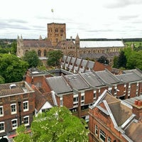 Photo taken at St Albans Clock Tower by Jonathan C. on 6/23/2013