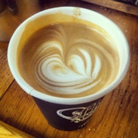 Photo taken at Flat Cap Coffee Co. by Jonathan C. on 2/2/2013