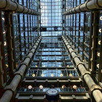 Photo taken at Lloyd's of London by Jonathan C. on 9/22/2012