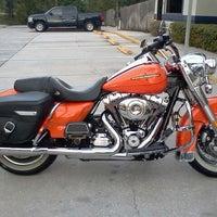 Photo taken at Jim's Harley-Davidson of St. Petersburg by Meadow on 10/31/2012
