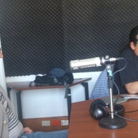 Photo taken at Distrito Fm 102.9 by Camila W. on 12/15/2013