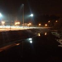 Снимок сделан в Спортивно-досуговый парк «Красная Пахра» пользователем Vadim B. 1/4/2014