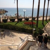 Photo taken at Mövenpick Hotel Beirut by Maro C. on 9/28/2012