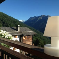 Photo taken at Hotel Favre - Le grand Chalet by Olivier M. on 7/31/2013