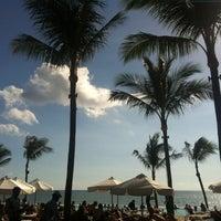 Photo taken at Potato Head Beach Club by Lila J. on 2/9/2013