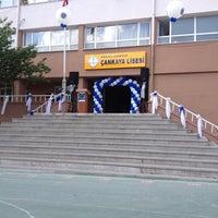 Photo taken at Çankaya Anadolu Lisesi by Ezgi 💕Ⓜ️ on 5/28/2014