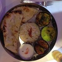 Photo taken at Saffron Restaurant by Juliette D. on 9/26/2012