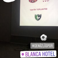 Photo taken at Blanca Hotel by Remzi ÖZDEMİR on 10/6/2017