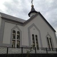 Photo taken at Храм Святого великого князя Владимира by Юля М. on 8/4/2013