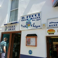 Photo taken at D Fecci & Sons Fish & Chip Shop by Phil f. on 5/26/2013