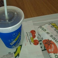 Photo taken at Subway by Andreza A. on 1/12/2013