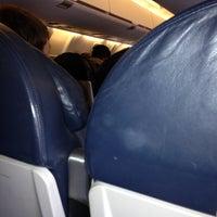 Photo taken at Gate 9 SHV by Kim J. on 11/6/2012