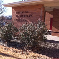 Photo taken at Robinson Elementary by Brenda S. on 12/16/2013