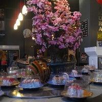 Photo taken at Sushi Sakura by Trevor B. on 1/19/2013