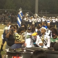 Photo taken at Hillside High School by Tia S. on 10/6/2012