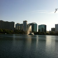 Photo taken at Relax Grill At Lake Eola by Jackie B. on 3/14/2013