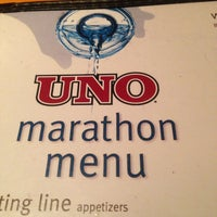 Photo taken at Uno Pizzeria & Grill - Boston by Kevin L. on 4/13/2013