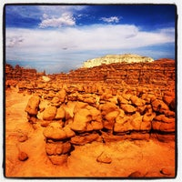 Photo taken at Goblin Valley State Park by Michael H. on 7/4/2013