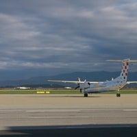 Photo taken at Zagreb International Airport (ZAG) by Diana R. on 4/12/2013