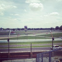 Photo taken at Indianapolis Motor Speedway Lot 4 by Daniel I. on 7/26/2013