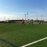 Photo taken at Ciudad Deportiva Valencia C.F by Bettina S. on 4/21/2013