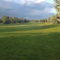 Photo taken at Sandcreek Golf Course by Amy H. on 7/13/2013
