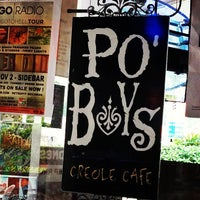 Photo taken at Po' Boys Creole Cafe by Tammy C. on 10/27/2012