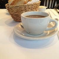 Photo taken at Mon Petit Café by Christopher B. on 2/5/2013