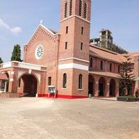 Photo taken at St. Augustine Church of Yangon by Anegga T. on 4/23/2013