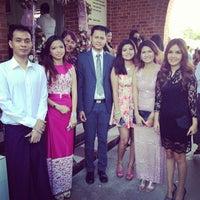Photo taken at St. Augustine Church of Yangon by Anegga T. on 1/4/2014