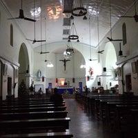 Photo taken at St. Augustine Church of Yangon by Anegga T. on 12/23/2013